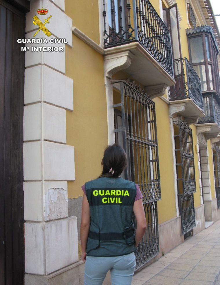 Detenido el autor de varios robos con escalo en casas de Totana