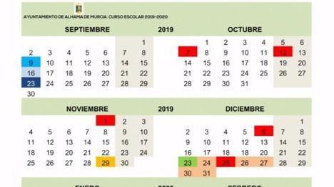 Alhama vuelve al 'cole' el 9 de septiembre