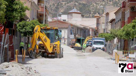 Imagen de Archivo de las obras realizadas en la avenida España y Barrio El Carmen.