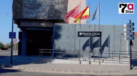 Multa de 601 euros por una caja de marihuana que trataba de ocultar