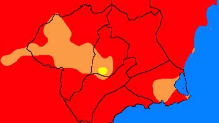 Las altas temperaturas elevan el riesgo de incendio a extremo