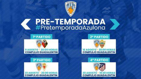 El Guadalentín acogerá la pretemporada del Alhama CF Femenino