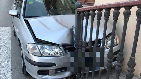 Dos accidentes de tráfico en Librilla sin daños personales