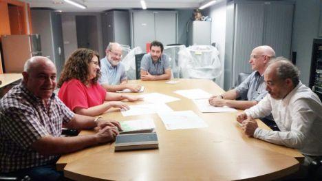 Alhama presenta en Cultura y Patrimonio el proyecto del Castillo