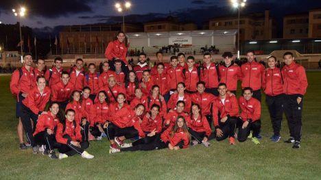 Dos alhameños logran un récord histórico con la FAMU en Pamplona
