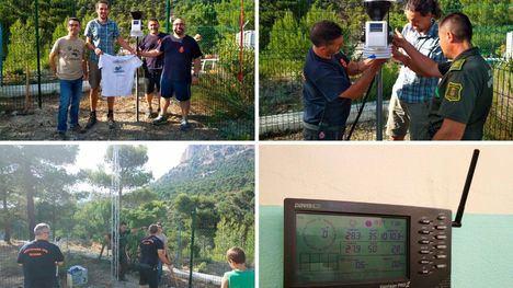 Instalada una estación meteorológica en Sierra Espuña