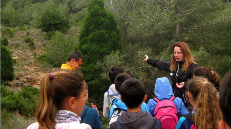 Actividades en Sierra Espuña para la familia en el mes de agosto
