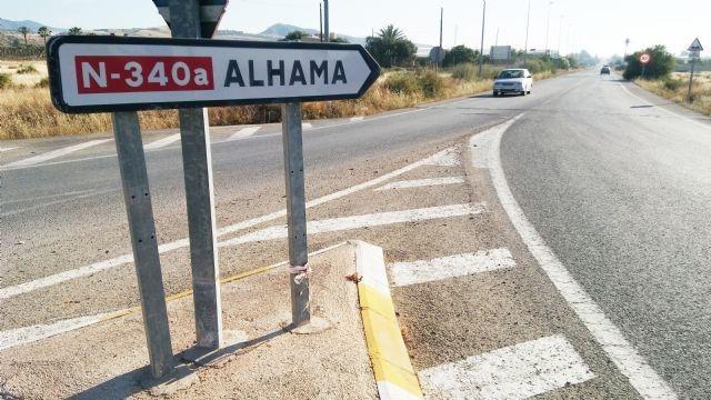 Totana arreglará el firme de la carretera con Alhama, la N-340a
