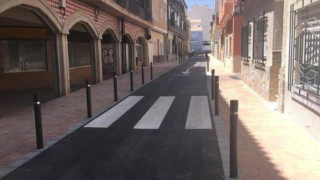 FOTOS Concluyen las obras en la calle Acequia Espuña