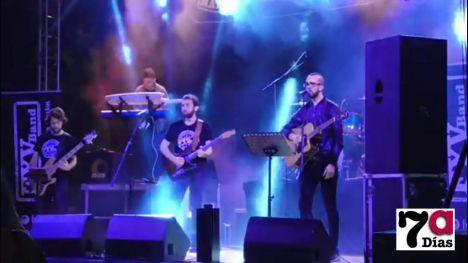 VÍDEO: Lo mejor de los 80 y los 90, en Alhama de la mano de FYV Band