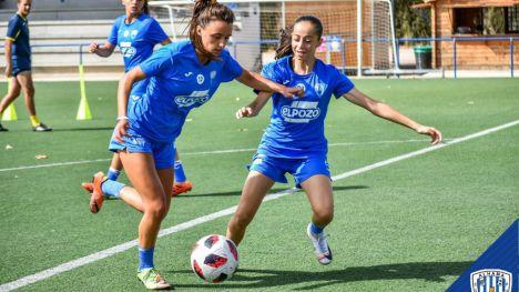 El Alhama CF Femenino se enfrenta esta tarde al UD Almería Femenino