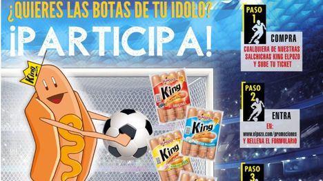 ElPozo sortea botas de fútbol de la mano del Álbum Oficial de La Liga