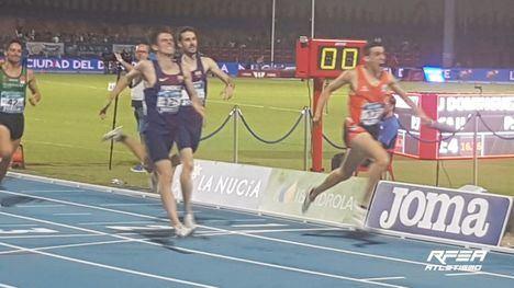 V/F Mariano García, oro en los 800 mts. del Campeonato de España