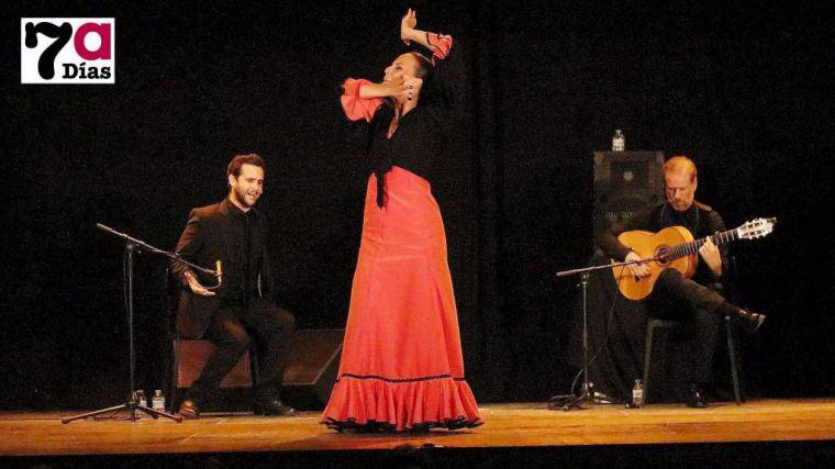 Foto de archivo de la III Semana Flamenca de Alhama de 2018.