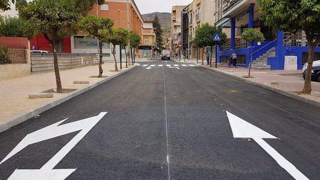 La avenida Cartagena abre al tráfico el próximo lunes