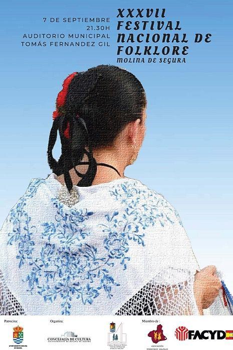 El 'Virgen del Rosario' acude al 37º Festival de Folclore de Molina
