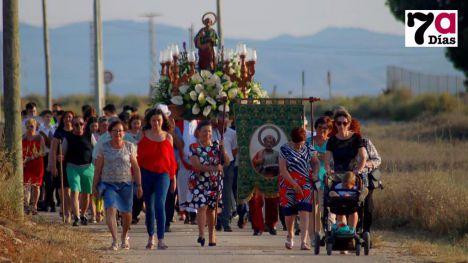 Imagen de archivo de las fiestas patronales en La Costera, donde se presentan, hasta el momento, dos candidatos a alcalde pedáneo.