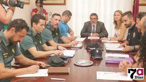 VÍD./FOT. Efectivos de Guardia Civil reforzarán la seguridad en Feria