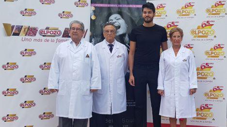 José Fuertes, Tomás Fuertes y Juana Fuertes, responsables de ELPOZO ALIMENTACIÓN, con Pablo de Torres, director de Joyful!