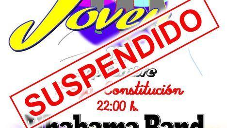 Suspendido el inicio de las Fiestas del Barrio por la lluvia