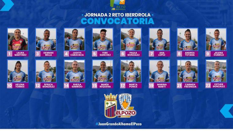 El Alhama CF ElPozo se enfrenta al CD Juan Grande este domingo