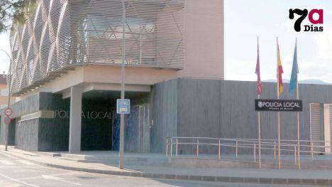 Policías locales de Alhama se desplazan a ayudar a Los Alcázares