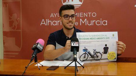 Alhama abre una línea de ayudas a la compra de 'bicis' eléctricas