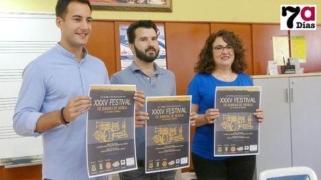 V. La Banda de Alhama compartirá escenario con músicos de Águilas