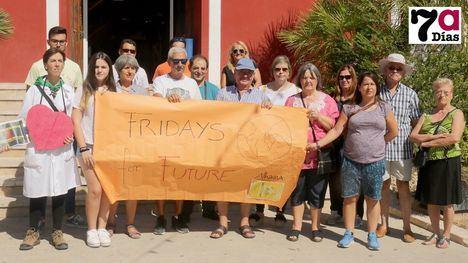VÍD./FOT. Alhama se suma a la Huelga Mundial por el Clima