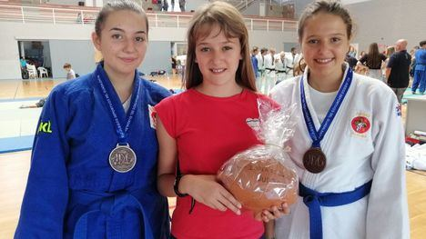 FOTOS Bronce para Delia García en el Open de Judo en Lorca