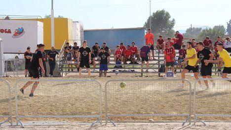 FOTOS El fútbol playa de la Feria de Alhama ya tiene ganadores