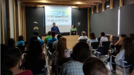 Setas, reforestación y senderismo, actividades en Sierra Espuña