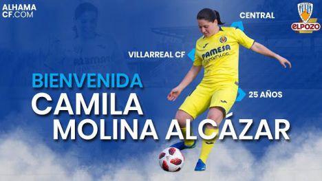 El Alhama CF ElPozo ficha a la defensa Camila Molina