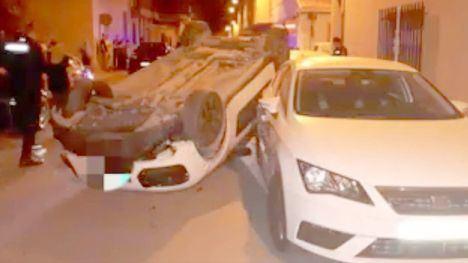La Policía Local publica 'imágenes dantescas' de un accidente en Feria