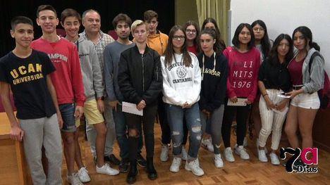 VÍDEO Reconocimiento al Valle de Leiva por ayudar a Los Alcázares