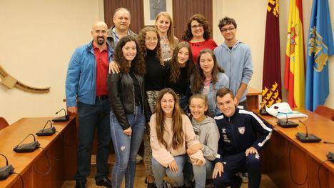 V/F Alumnos franceses de intercambio visitan Alhama