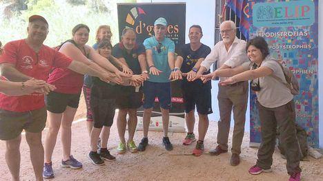 D'Genes realiza una ruta solidaria en el Parque de Sierra Espuña
