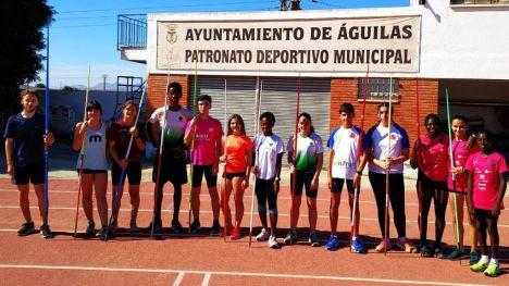 Atletas de Alhama participan en el plan de tecnificación de FAMU