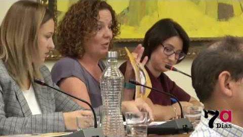 Las concejalas de Ciudadanos (C's) en el Ayuntamiento de Alhama, Lali Salas e Isabel Cava.