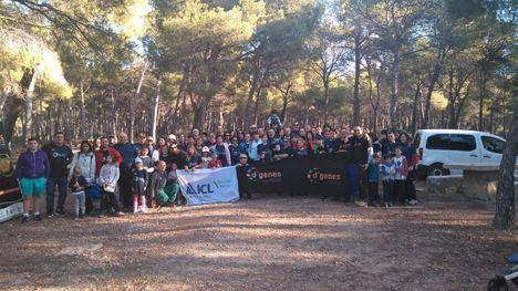 Alta participación en la ruta por Sierra Espuña en favor de D'Genes
