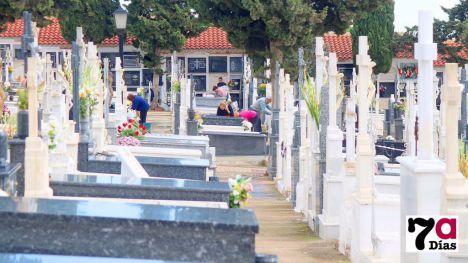El Cementerio se prepara para el día de Todos los Santos