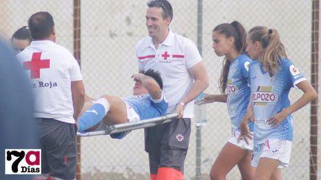 La azulona Tere Sánchez se pierde lo que resta de temporada