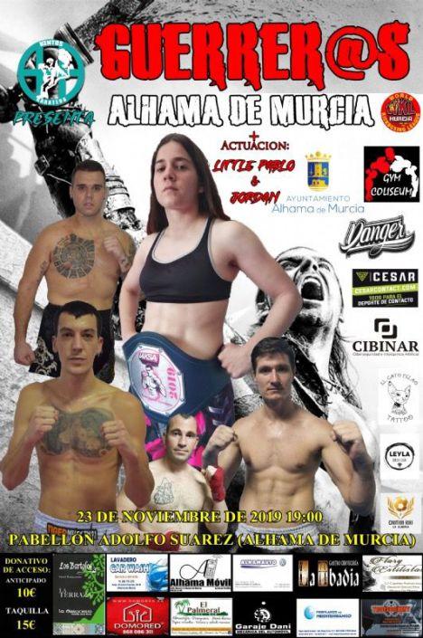 Alhama acoge el 23 de noviembre un combate de boxeo