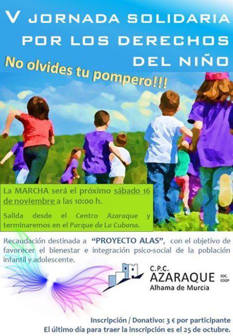 El Colegio Azaraque marcha este sábado por los Derechos del Niño