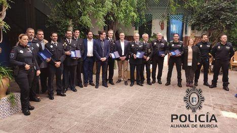 FOTOS Los Alcázares homenajea a la Policía Local de Alhama