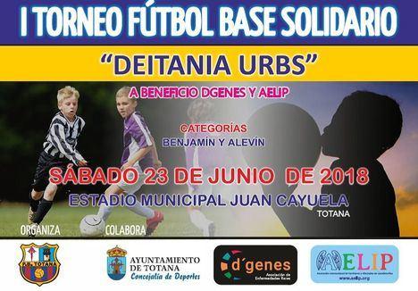 D'Genes y AELIP, con la P. Barcelonista Totana