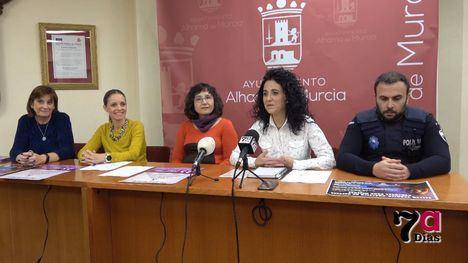 VÍDEO La Concejalía de Igualdad presenta las actividades por el 25N