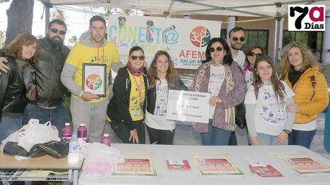 Marcha solidaria de medio millar de niños y padres del Azaraque