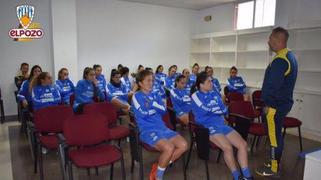 Imagen de la última sesión de entrenamiento preparatoria al encuentro con el Valencia B.