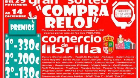 Librilla pone en marcha su 'Compra-Reloj' hasta el 14 de diciembre